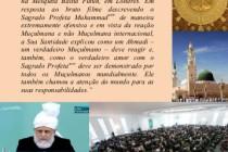 Verdadeiro Amor Para o Sagrado Profeta