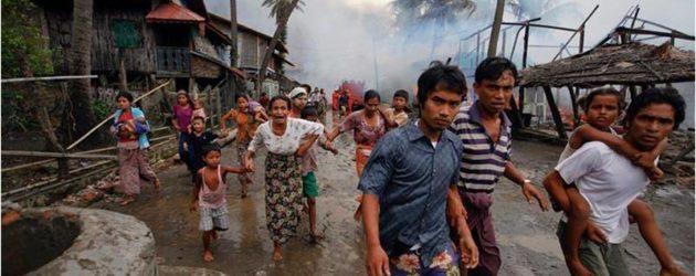 O Chefe Supremo da Comunidade Islâmica Ahmadia condena a perseguição  dos Muçulmanos da Comunidade Rohingya